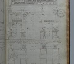 Antoine Desgodets (1653-1728). Recœuil des estudes d'architectures que j'ay fait à Rome [...]. 1682. © Bibliothèque de l'Institut de France