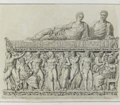 Dessins de Charles Percier, Ms 1006, fol.7 pièce 8 © RMN-Grand Palais