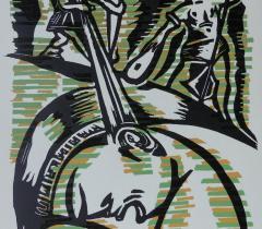 L'Iliade. Xylographie, Eric Massholder - 4° N.S. 147073 Réserve © Olivier Thomas. Bibliothèque de l'Institut de France