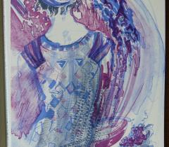 L'Odyssée. Lithographie, Toos Van Holstein - 4° N.S. 147074 Réserve © Olivier Thomas. Bibliothèque de l'Institut de France