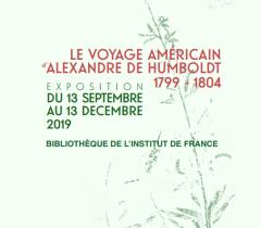 Le voyage américain d'Alexandre de Humboldt 1799-1804