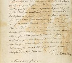 Jean Le Rond d'Alembert, Lettres au comte Joseph-Louis Lagrange, feuillet 180