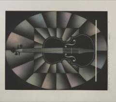 Détail d'un portrait présumé de Nicolo Paganini / Mario Avati. © Bibliothèque de l'Institut de France / Olivier Thomas