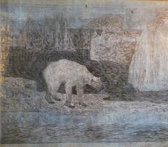 Hold / Jan Vičar ; Sally Ball. Fol N. S. 1607 Cabinet d'estampes contemporaines © Olivier Thomas. Bibliothèque de l'Institut de France