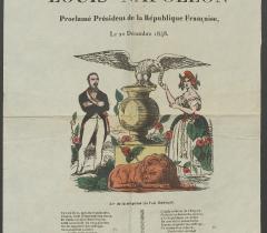 Lovenjoul Affiches 1848-1849 in-4° Réserve. Pièce n° 37. © Bibliothèque de l'Institut de France
