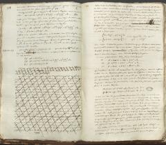 ms 2044 Calcul différentiel et intégral Joseph Fourier p. 198-199 © Bibliothèque de l'Institut de France