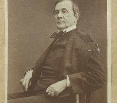 Portrait d'Emile de Girardin, Ms Lov D 718 ter, f.3 pièce G. © Bibliothèque de l'Institut de France