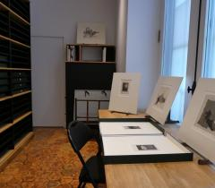 Cabinet d'estampes contemporaines © Bibliothèque de l'Institut de France