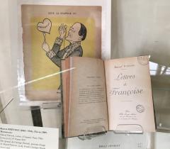 Marcel Prévost, Lettres à Françoise. Paris, Félix Juven, [s.d.]. 8° Pierre 3951.- © Bibliothèque de l'Institut de France
