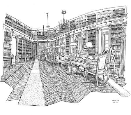 Bibliothèque de l'Institut de France, 19.X.2020/© Christelle Téa