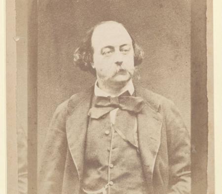 Portrait de Flaubert. Ms Lovenjoul H 1366 bis, f.275